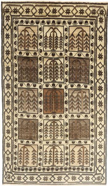Loribaft Persia Matto 152X290 Moderni Käsinsolmittu Vaaleanruskea/Tummanruskea/Beige (Villa, Persia/Iran)