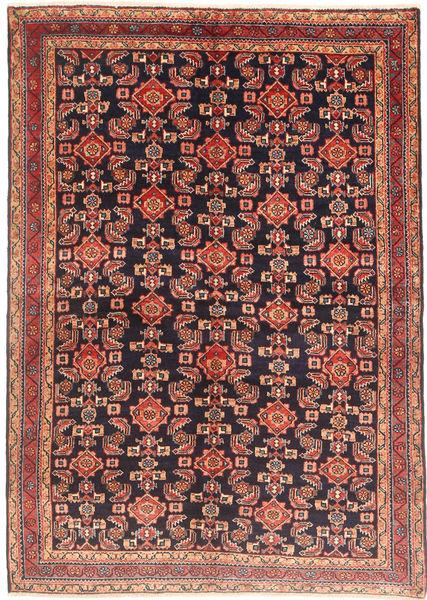 Lillian Tapis 158X222 D'orient Fait Main Marron/Violet Foncé (Laine, Perse/Iran)
