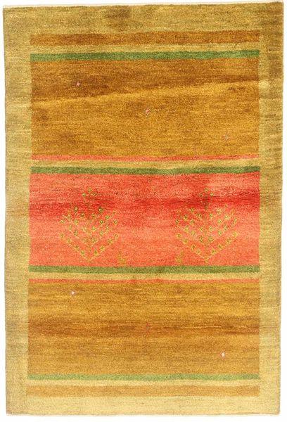 Gabbeh Persia Rug 118X178 Authentic  Modern Handknotted Orange/Light Brown (Wool, Persia/Iran)