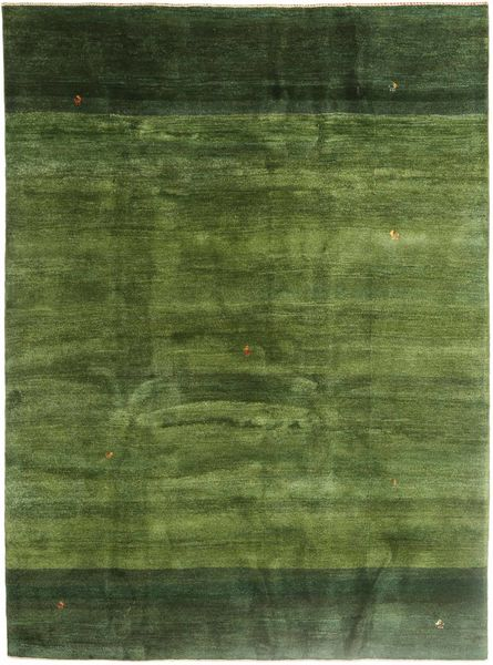 Gabbeh Persia Teppe 211X290 Ekte Moderne Håndknyttet Olivengrønn/Mørk Grønn (Ull, Persia/Iran)