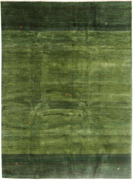 Gabbeh Persia Rug 211X290 Authentic  Modern Handknotted Olive Green/Dark Green (Wool, Persia/Iran)