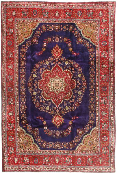Tabriz Rug 240X358 Authentic  Oriental Handknotted (Wool, Persia/Iran)