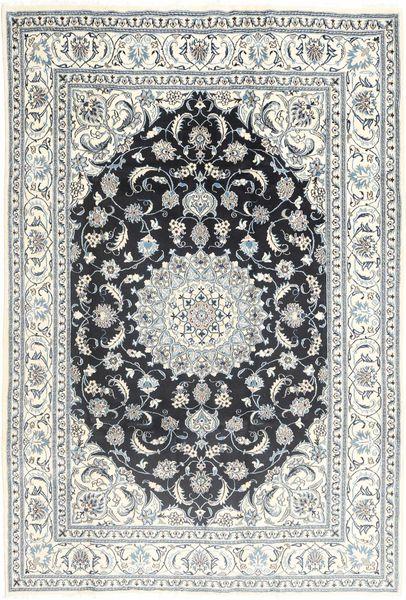 Nain Matto 202X286 Itämainen Käsinsolmittu Vaaleanharmaa/Beige (Villa, Persia/Iran)