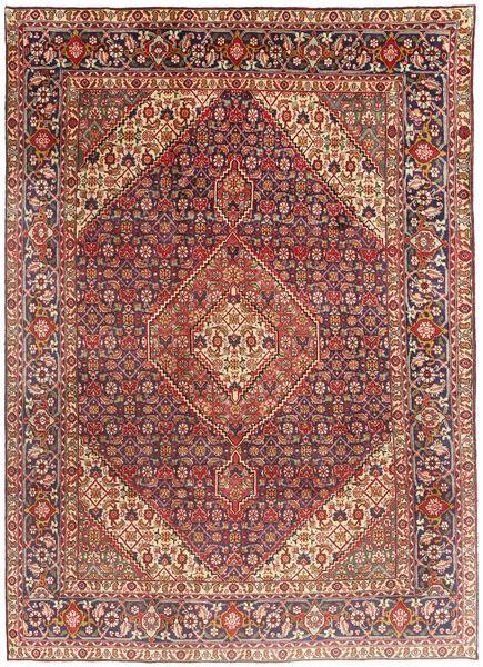 Tabriz Rug 203X291 Authentic  Oriental Handknotted Dark Red/Dark Brown (Wool, Persia/Iran)