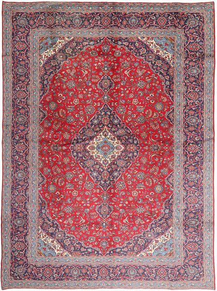 Keshan Patina Matto 293X405 Itämainen Käsinsolmittu Vaaleanvioletti/Tummanvioletti Isot (Villa, Persia/Iran)