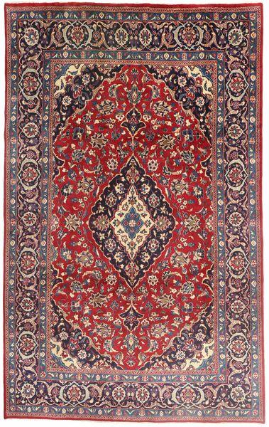 Mashad Rug 191X310 Authentic  Oriental Handknotted Dark Red/Dark Brown (Wool, Persia/Iran)