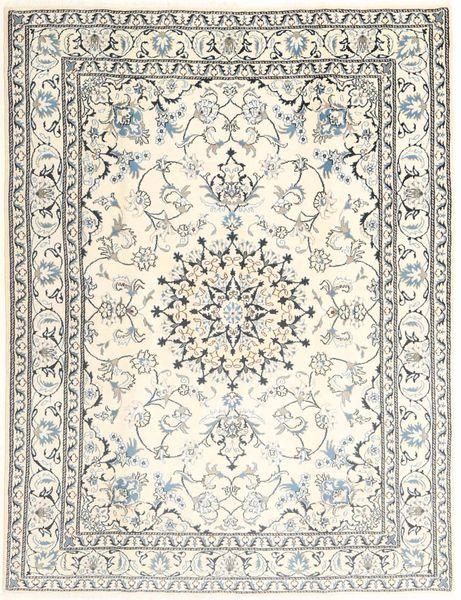Nain Matto 179X233 Itämainen Käsinsolmittu Beige/Vaaleanharmaa (Villa, Persia/Iran)
