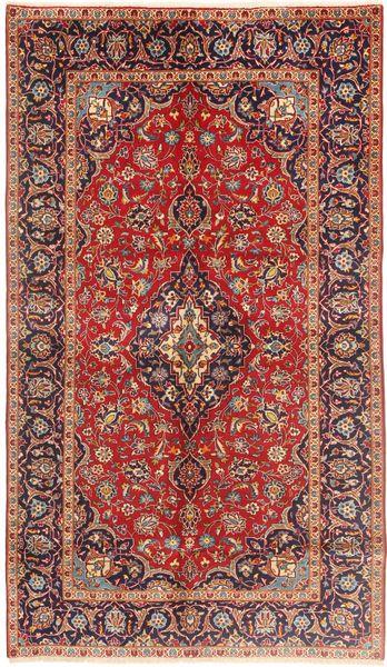 Keshan Matto 147X253 Itämainen Käsinsolmittu Ruskea/Tummanruskea (Villa, Persia/Iran)