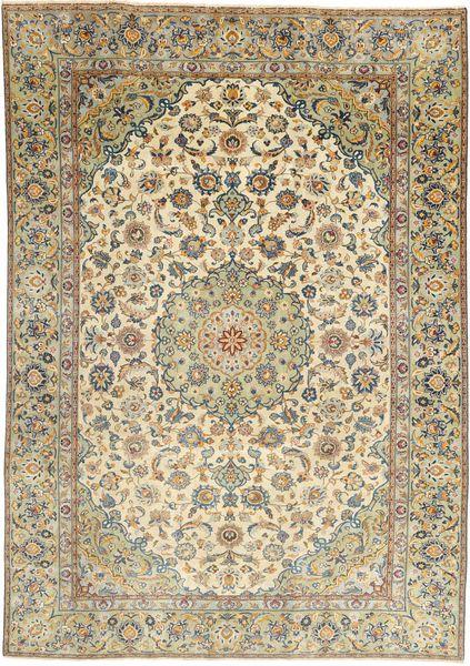 Najafabad Patina Matto 187X265 Itämainen Käsinsolmittu Vaaleanruskea/Beige (Villa, Persia/Iran)