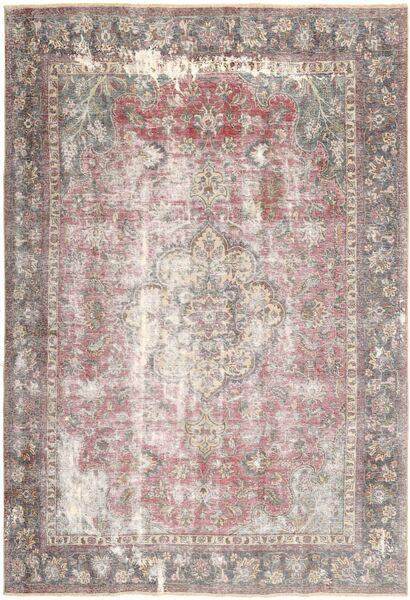 Colored Vintage Dywan 218X323 Nowoczesny Tkany Ręcznie Jasnoszary/Biały/Creme (Wełna, Persja/Iran)
