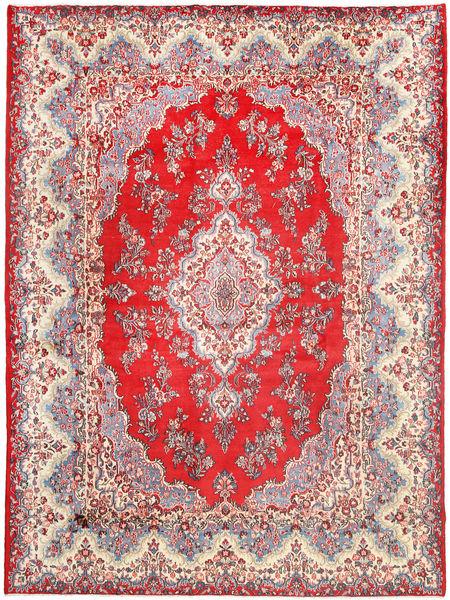 ケルマン 絨毯 270X370 オリエンタル 手織り 濃いグレー/ライトピンク 大きな (ウール, ペルシャ/イラン)