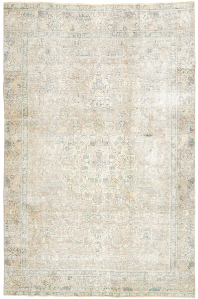 Colored Vintage Rug 186X288 Authentic  Modern Handknotted Dark Beige/Light Grey (Wool, Persia/Iran)