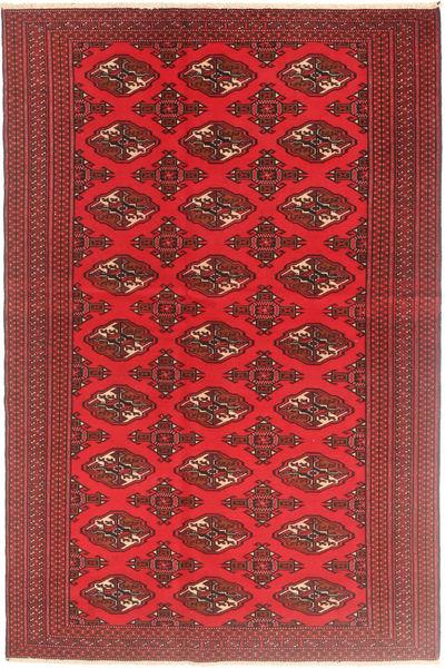 Turkaman Patina Rug 126X190 Authentic  Oriental Handknotted Dark Red/Crimson Red (Wool, Persia/Iran)