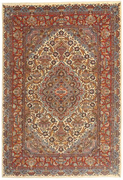 Kashmar Patina Matta 195X290 Äkta Orientalisk Handknuten Brun/Mörkröd (Ull, Persien/Iran)
