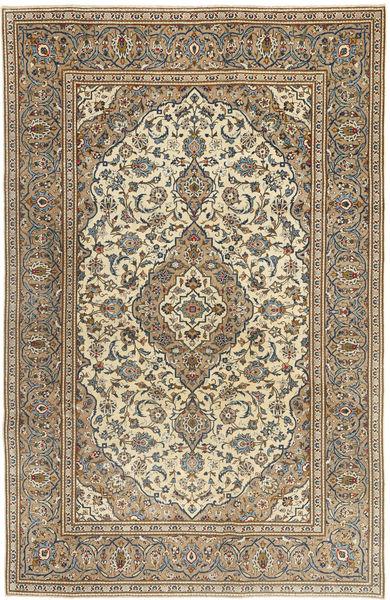Keshan Patina Rug 192X298 Authentic  Oriental Handknotted Brown/Light Brown (Wool, Persia/Iran)