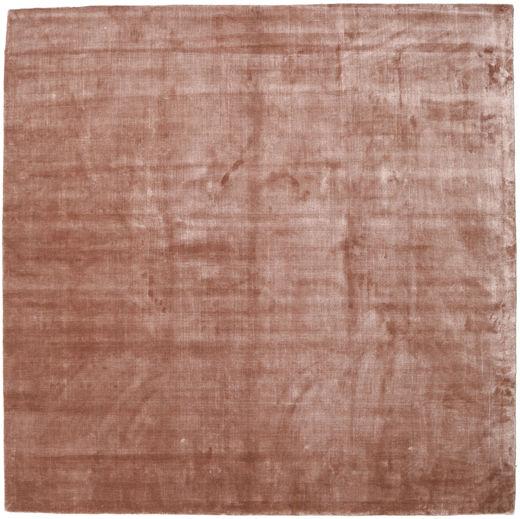 Broadway - Dusty Rose Matto 250X250 Moderni Neliö Tummanpunainen/Vaaleanpunainen Isot ( Intia)