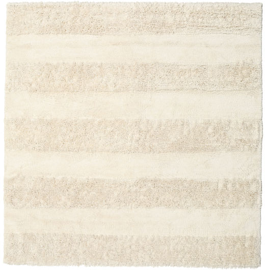 New York - Cream Vloerkleed 250X250 Modern Vierkant Beige Groot (Wol, India)