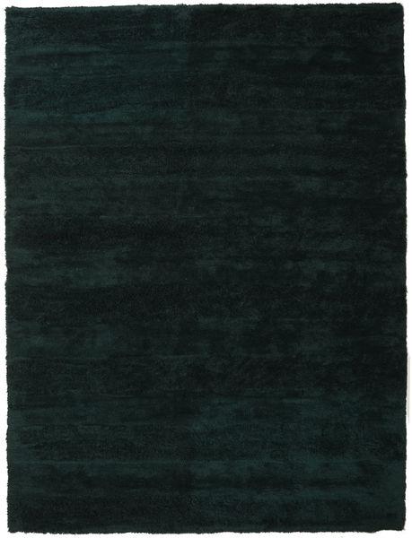 New York - Tummanvihreä Matto 300X400 Moderni Tumma Turkoosi Isot (Villa, Intia)
