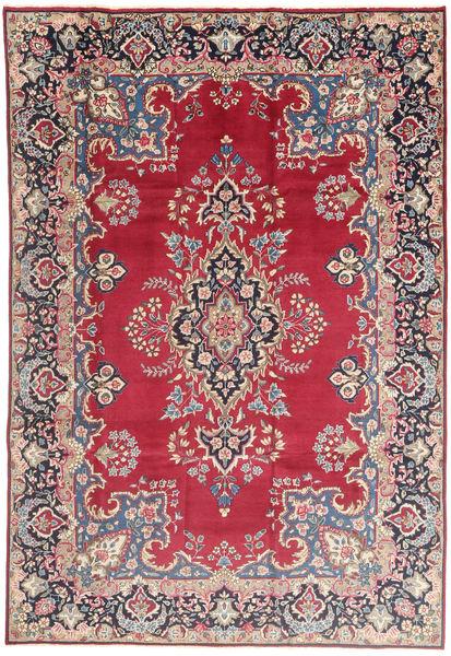 Kerman Dywan 198X295 Orientalny Tkany Ręcznie Czerwony/Jasnoróżowy (Wełna, Persja/Iran)