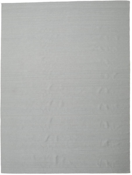 Kilim Loom - Grey Rug 300X400 Authentic  Modern Handwoven Light Grey Large (Wool, India)
