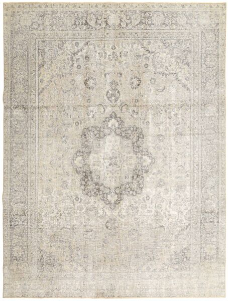 Colored Vintage Rug 280X368 Authentic  Modern Handknotted Light Grey Large (Wool, Persia/Iran)