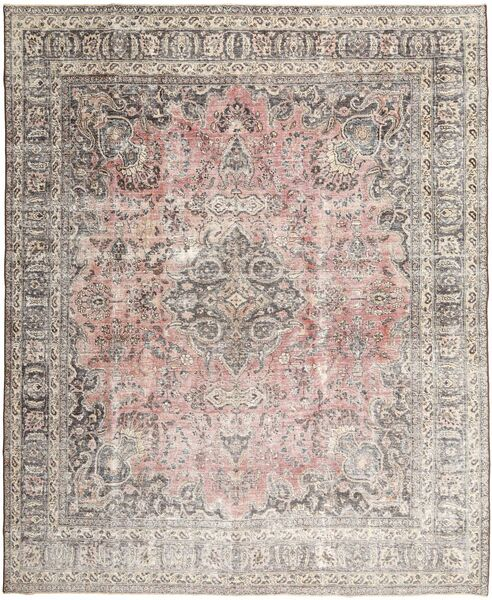 Colored Vintage Rug 303X380 Authentic  Modern Handknotted Light Grey Large (Wool, Persia/Iran)