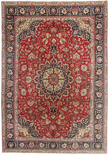 Tabriz Patina Matto 200X290 Itämainen Käsinsolmittu Ruskea/Vaaleanruskea (Villa, Persia/Iran)