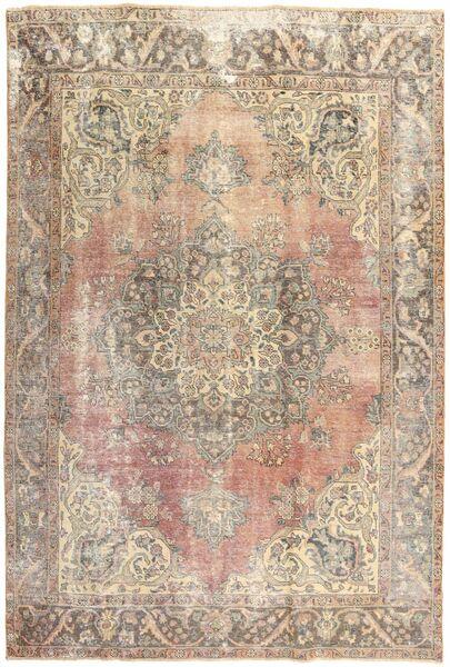 Colored Vintage Dywan 210X303 Nowoczesny Tkany Ręcznie Jasnoszary/Beżowy (Wełna, Persja/Iran)
