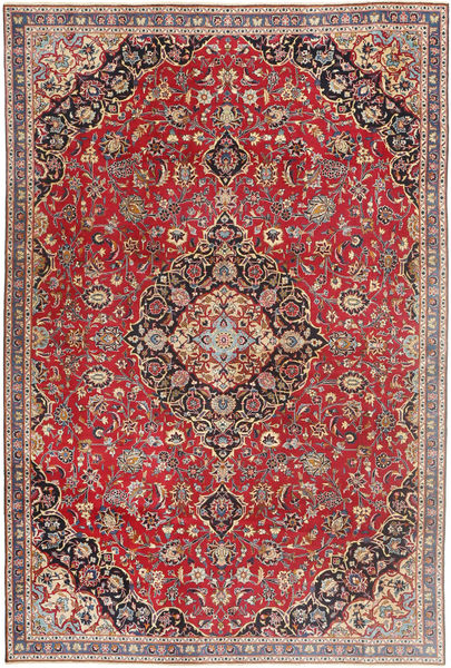 Mashad Patina Rug 183X278 Authentic  Oriental Handknotted Dark Red/Light Grey (Wool, Persia/Iran)