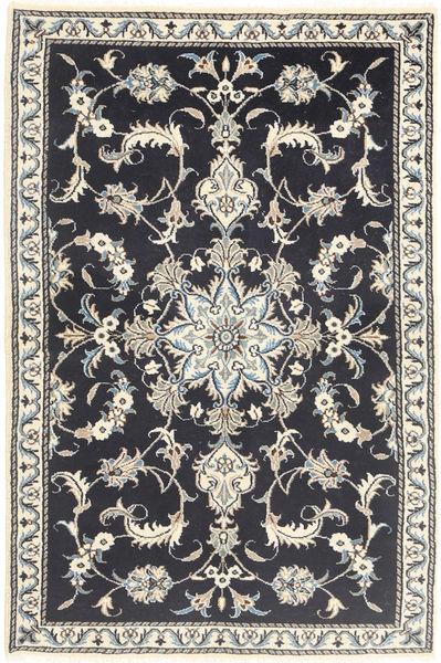 Nain Matto 89X140 Itämainen Käsinsolmittu Tummanharmaa/Beige (Villa, Persia/Iran)