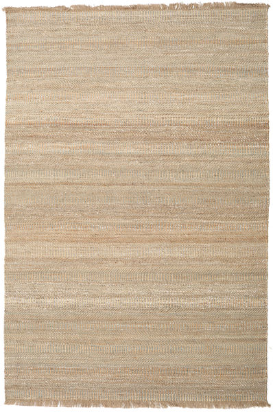 Sahara Jute Rug 200X300 Authentic  Modern Handwoven Light Brown ( India)
