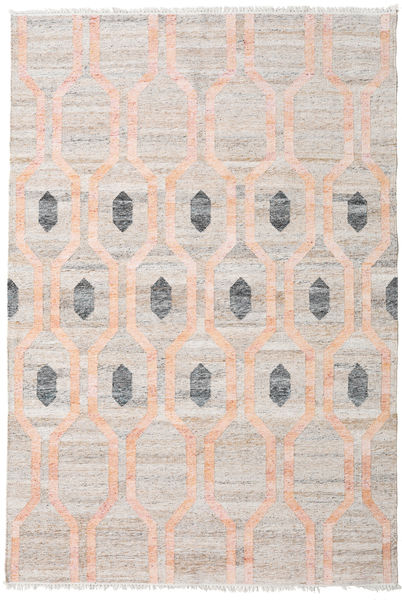 Cosmou - Coral Rug 200X300 Authentic  Modern Handwoven White/Creme/Light Grey ( India)