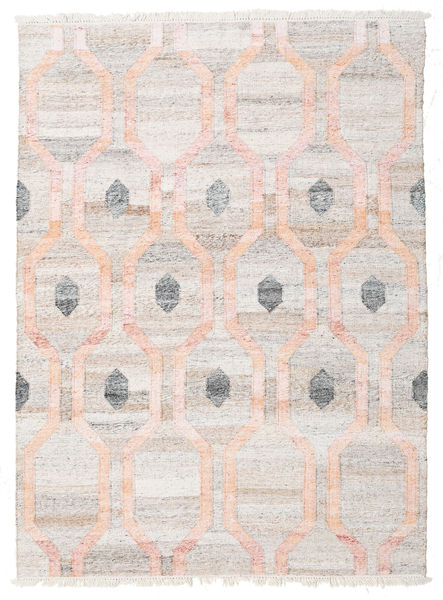 Cosmou - Coral Rug 170X240 Authentic  Modern Handwoven White/Creme/Light Grey ( India)