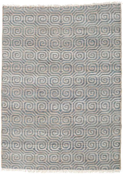 Thar Jute Matto 170X240 Moderni Käsinkudottu Vaaleanharmaa/Tummanharmaa ( Intia)