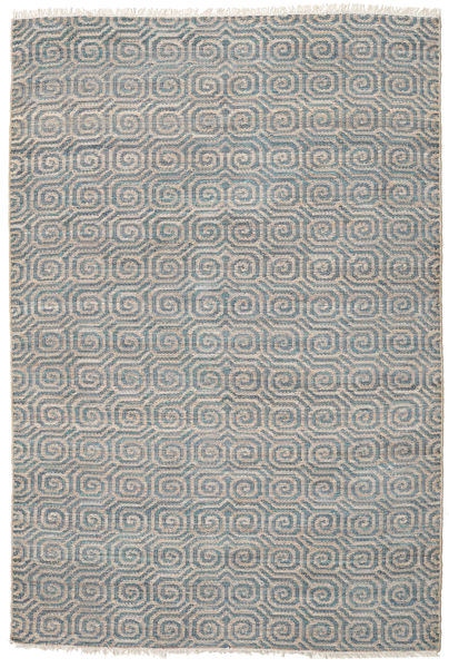 Thar Jute Rug 200X300 Authentic  Modern Handwoven Light Grey ( India)