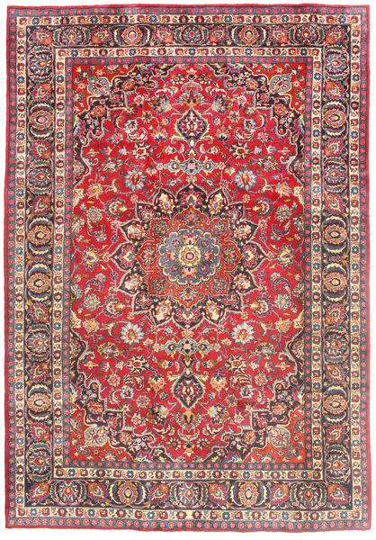 マシュハド 絨毯 194X280 オリエンタル 手織り 紫/錆色 (ウール, ペルシャ/イラン)