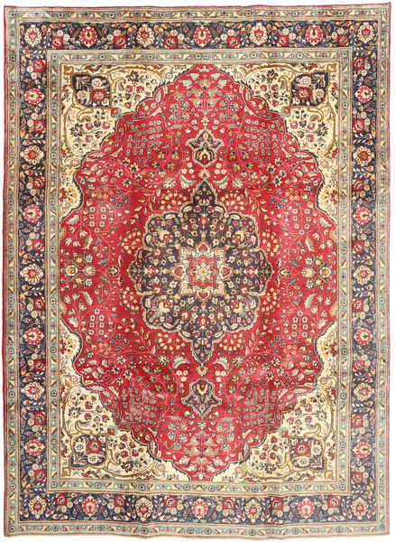 Tabriz Rug 242X330 Authentic  Oriental Handknotted Light Brown/Rust Red (Wool, Persia/Iran)