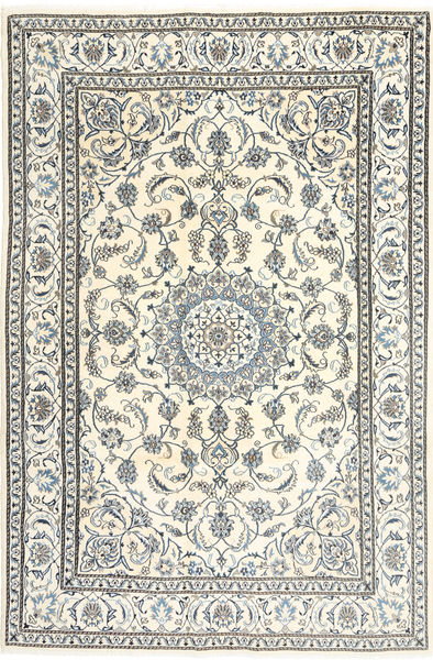 Nain Rug 195X300 Authentic  Oriental Handknotted Beige/Light Grey (Wool, Persia/Iran)
