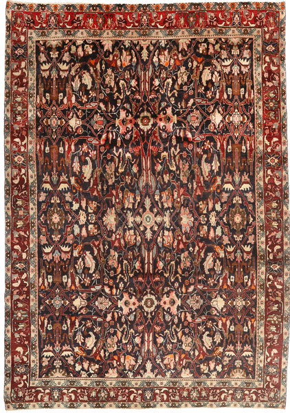 Koliai Rug 225X334 Authentic  Oriental Handknotted Dark Red/Light Brown (Wool, Persia/Iran)