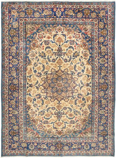 Najafabad Matta 293X400 Äkta Orientalisk Handknuten Mörkbrun/Lila Stor (Ull, Persien/Iran)