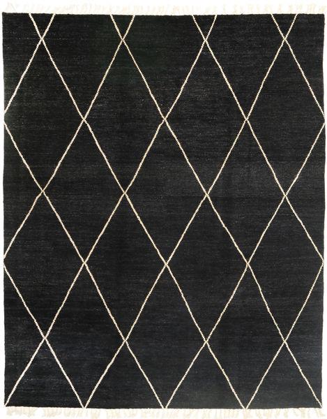 Barchi/Moroccan Berber - パキスタン 絨毯 244X305 モダン 手織り 黒 (ウール, パキスタン)