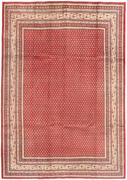 Sarouk Mir Rug 215X310 Authentic  Oriental Handknotted Light Brown/Purple (Wool, Persia/Iran)
