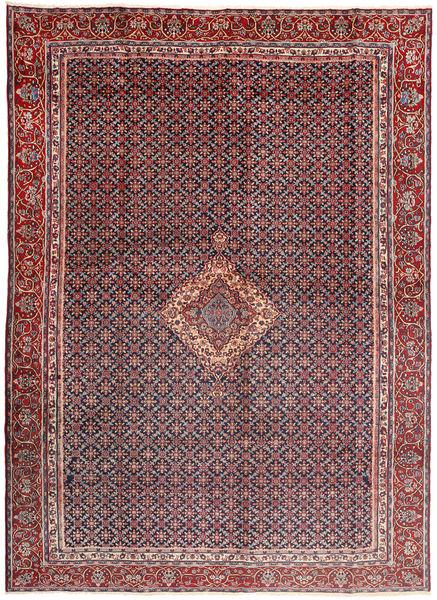 ムード 絨毯 285X380 オリエンタル 手織り 濃い茶色/深紅色の 大きな (ウール/絹, ペルシャ/イラン)
