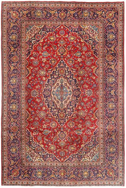 Keshan Matto 197X296 Itämainen Käsinsolmittu Tummanpunainen/Ruoste (Villa, Persia/Iran)