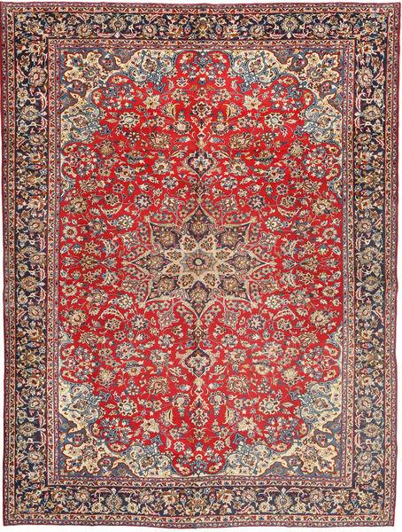 Najafabad Matto 305X405 Itämainen Käsinsolmittu Ruskea/Vaaleanruskea Isot (Villa, Persia/Iran)
