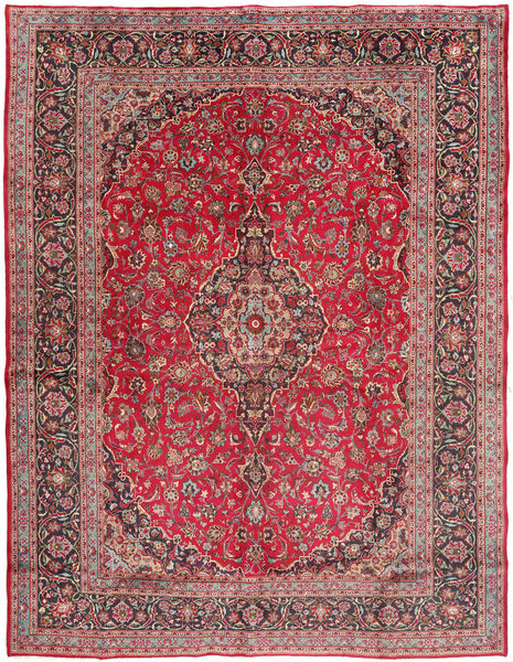 Mashad Rug 293X385 Authentic  Oriental Handknotted Purple/Rust Red Large (Wool, Persia/Iran)
