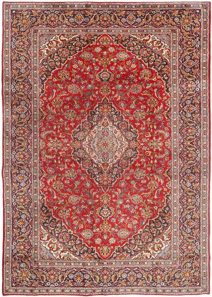 Najafabad Teppe 270X380 Ekte Orientalsk Håndknyttet Mørk Rød/Brun Stort (Ull, Persia/Iran)