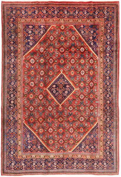 Mahal Matto 205X305 Itämainen Käsinsolmittu Ruskea/Tummanvioletti (Villa, Persia/Iran)