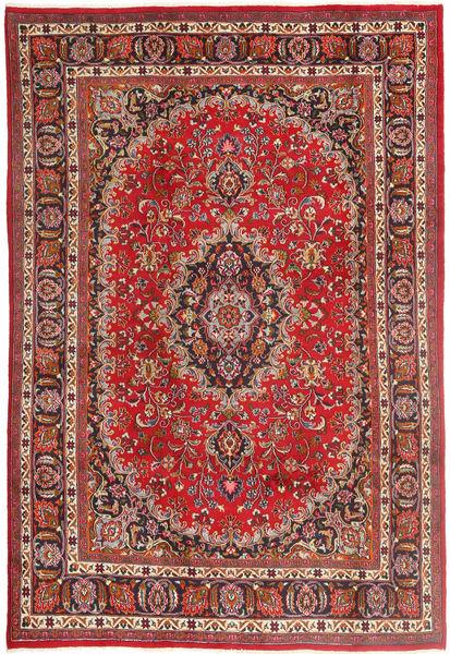 Meszhed Dywan 193X292 Orientalny Tkany Ręcznie Rdzawy/Czerwony/Brązowy (Wełna, Persja/Iran)