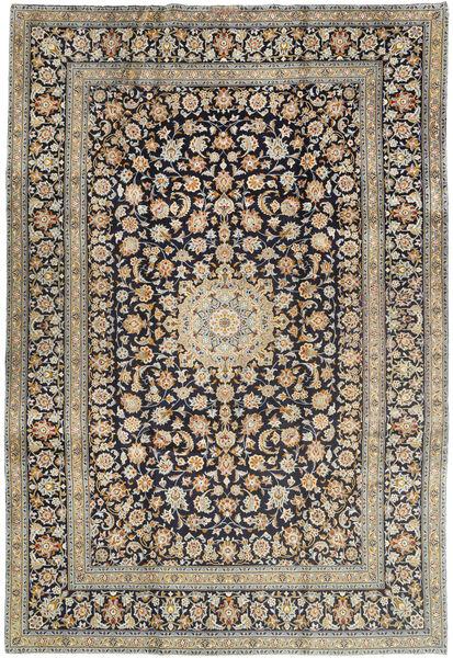 Keshan Matto 240X350 Itämainen Käsinsolmittu Vaaleanruskea/Tummanharmaa (Villa, Persia/Iran)